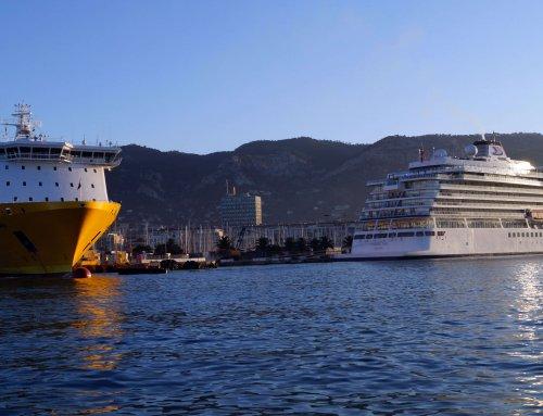 Les liaisons entre Toulon et La Corse du 18 au 24 mai