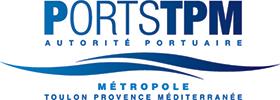 Ports Toulon Provence Méditerranée Logo