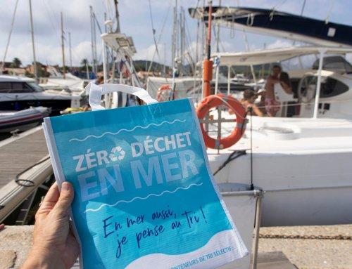 Porquerolles : Opération 0 déchet en mer